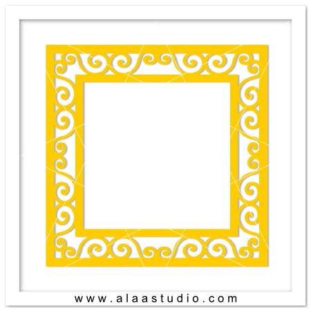12  X 12 Scrolls frame