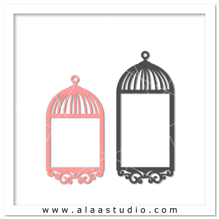 2 Bird cage frames