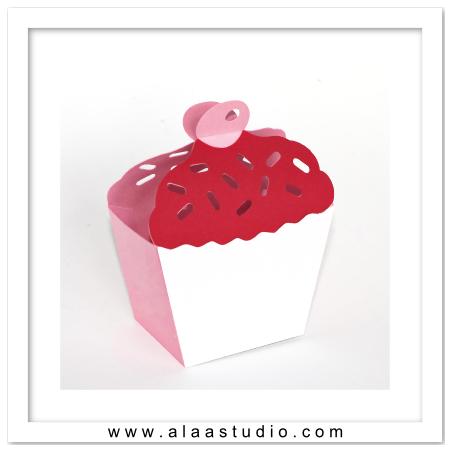 Cherry on top cupcake box