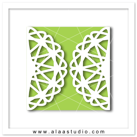 Doily gate fold card 4