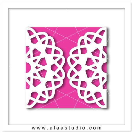 Doily gate fold card 9