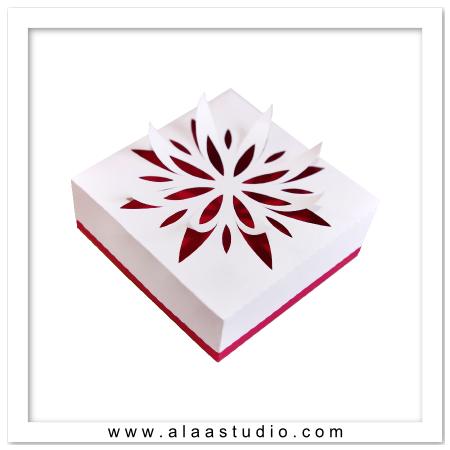 Floral Cutout Box