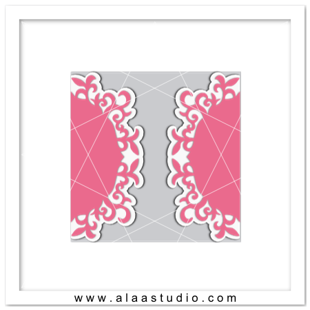 Florish gate fold card
