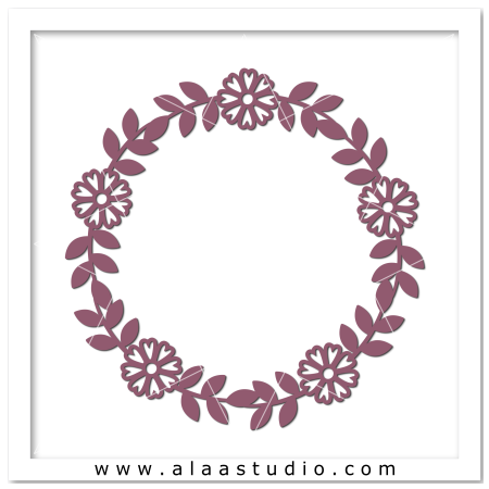 Flowers wreath 1