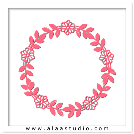 Flowers wreath 2