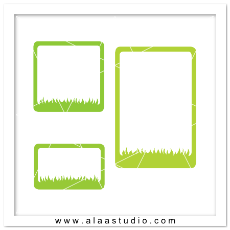 Grass frames set
