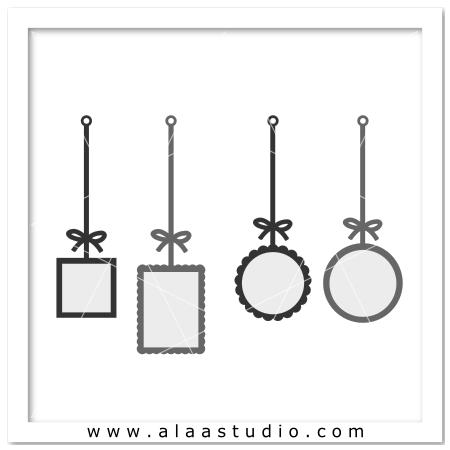 4 Hanging frames