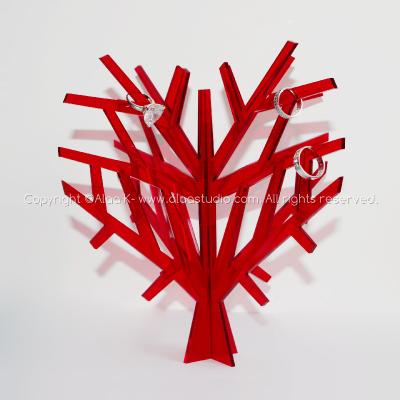 Jewellery Display Heart Tree