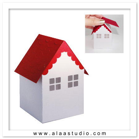 3D House box 3