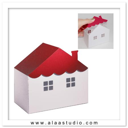 3D House box 4