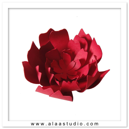 3D Layered Flower 1