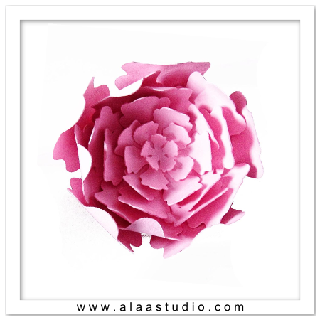 3D Layered Flower 2