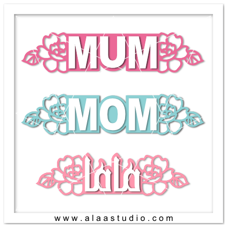 MOM MUM MAMA titles