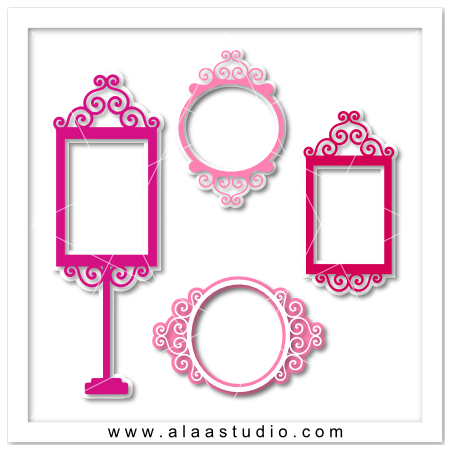 Layered Princess Frames
