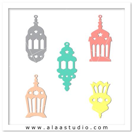 Ramadan lanterns fanoos 1