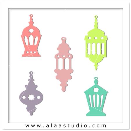 Ramadan lanterns fanoos 2