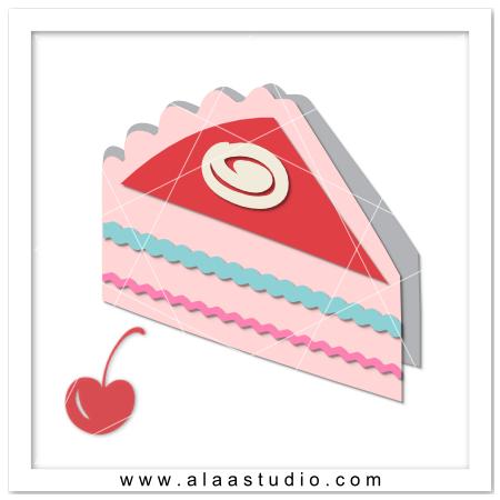 A Piece of cake card