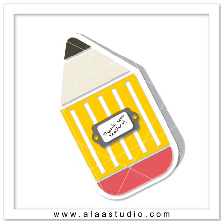 Pencil card