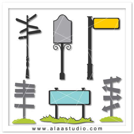 Street signs & posts