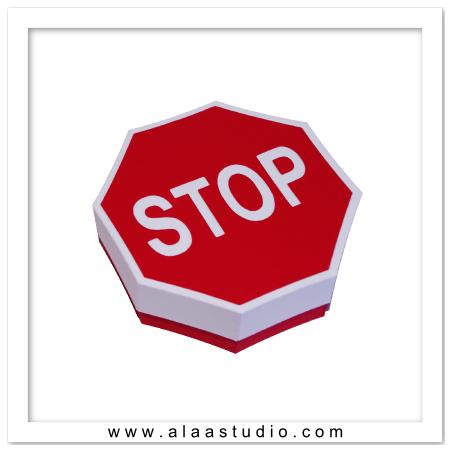 Stop Sign Box