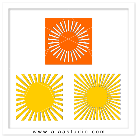 Sun burst backgrounds