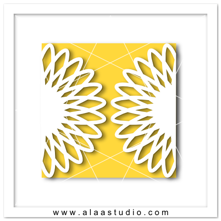 Sunflower gate fold card
