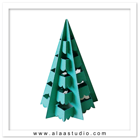 3D Pop out decor tree 3