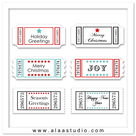 P&C Christmas tickets