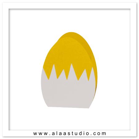 3D Egg bag