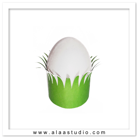 Grass egg holder