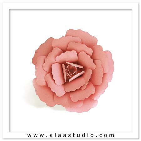 3D Large flower 1