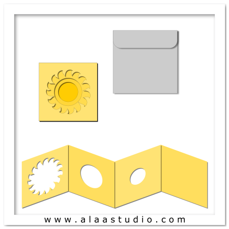 Sun windows card w envelope