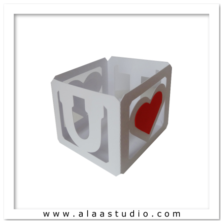 I U -Tea light cover block