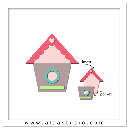 Birdhouse pocket card 1
