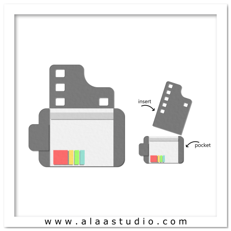 Film canister pocket card